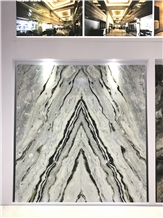 Blue Danube Marble Slabs Bookmatched Chinese