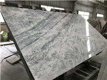 Greece Venice Blue Marble Slabs Tiles Bookmatched