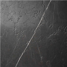 Pietra Grey Marble Big Slabs/ Tiles Bookmatched