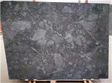 Rocky Blue Marble Slabs/ Tiles Bookmatched