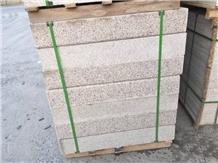 20cm Rust Stone Curbstone/Yellow Granite Kerbstone