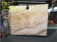 Beige Onyx for Floor & Wall Decoration