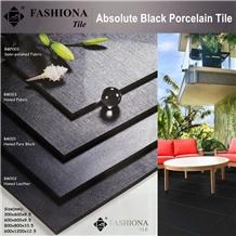 Aboslute Black Porcelain Tiles