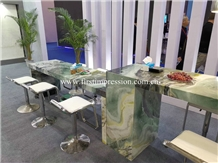 China Wizard Of Oz Marble for Reception Counter