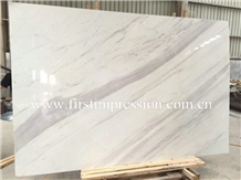 Greece Volakas White Marble Tiles for Covering