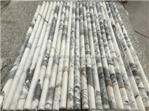 Made in China Calacatta Gold Marble Column Molding