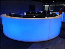 Customized Translucent Acrylic Counter Top