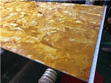 Polished Transtones Faux Onyx Bar Counter Top