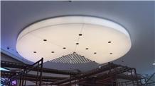 Translucent Renewable Acrylic Office Decor Light