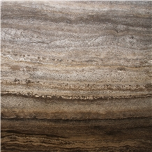Kashan Silver Travertine, Brown Travertine