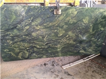 Verde Picasso Granite, Watercolor Green Granite