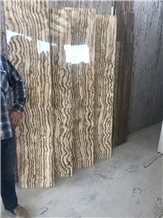 Wallnut Veincut & Crosscut Travertine