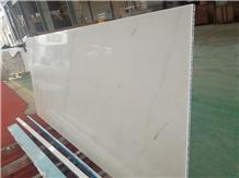 Ariston White Marble Honeycomb Slabs Tiles