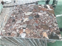 Rosso Marinace Multi Colorful Outdoor Granite Tile