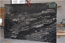 Cobra Black Granite Slabs