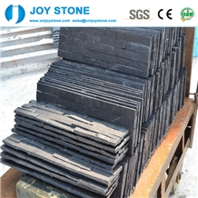 Cheap Good Black Slate Natural Cultured Art Stone