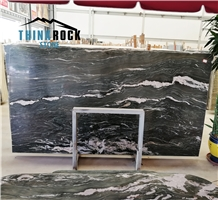 Verde Tropical Marble Slabs from Greece