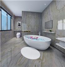 Magic Seaweed Green Marble Slabs Bathroom Tiles