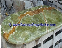 Dark Green Onyx Table Tops Collections