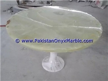 Light Green Onyx Table Tops Collections