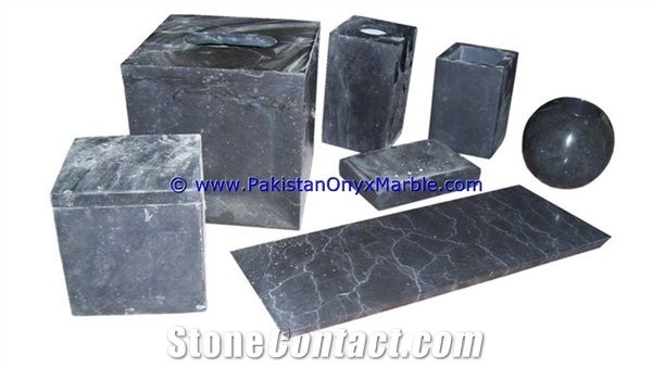 Marble Bathroom Accessories Set Gray Tumbler From Pakistan Stonecontact Com
