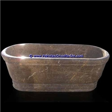 Marble Bathtub Natural Stone Pietra Brown