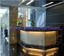 Onyx Lobby Desk Counter Collections,Bar Top,Commercial Counter