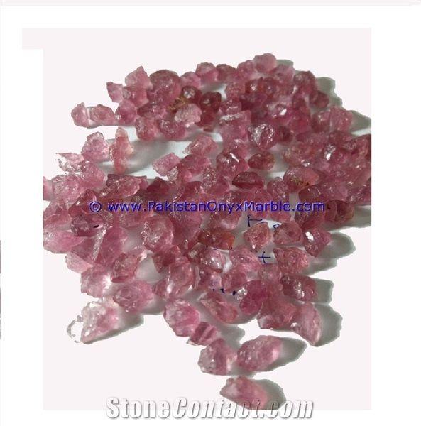 Pink Amethyst Facet Planter