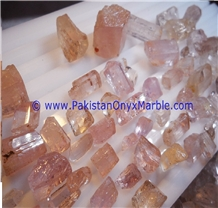 Pink Topaz Katlung Mine Rough Facet Grade