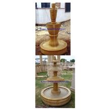 Teakwood Burmateak Marble Water Fountain
