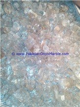 Topaz Rough Raw Crystal Clear White Color