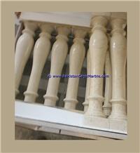 Verona Beige Marble Balustrade