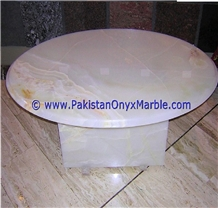 White Onyx Table Tops Collections