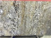 Snow Mountain Golden Sesame Granite Slabs,Tiles