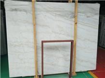 China Guangxi White Marble Slabs