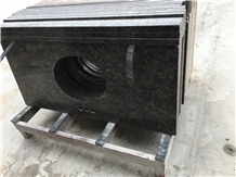 Tan Brown Granite Vanity Top Countertop