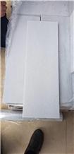 Cal White Marble Sandblasted Tile