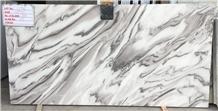 Bruno White Marble Slabs