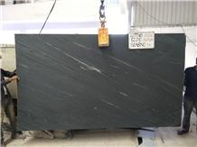 Marine Black Marble Slabs