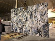 Greece New Ice Blue Marble Slabs Da Vinci