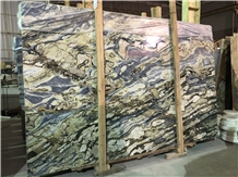 New Stone Sea Green Wave Marble Slab Project Tiles
