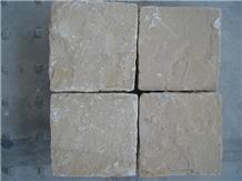 Mint Sandstone Cobble Stones