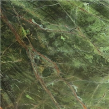 Rain Forest Green Indian Marble Slabs & Tiles