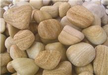 Teakwood Sandstone Pebble Stone