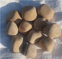 Teakwood Sandstone Pebble Stones