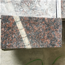 Chestnut Brown Granite Slabs Wall Flooring Tiles