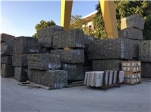 Finland Baltic Brown Granite Quarry Big Raw Blocks