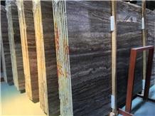 Grey Snake Travertine Slabs & Flooring Tile
