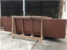Indian Imperial Universal Red Granite Slabs Tiles