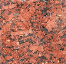 Indian Karimnagar Maple Red Granite Slabs Tiles